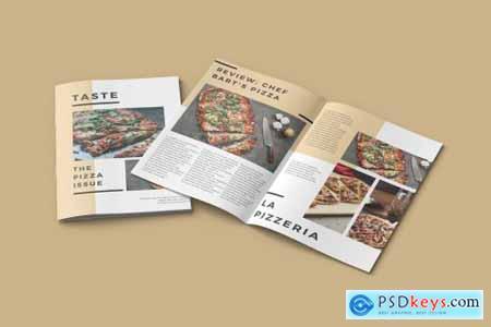 A4 Magazine Mockup DTJAJS7