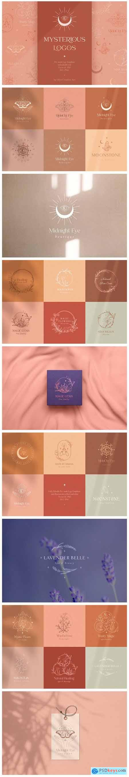 Logo Templates Collection Mystic