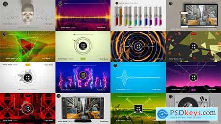50 Audio Spectrum Music Visualizers 19627228