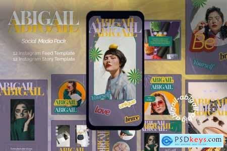 ABIGAIL Instagram Template