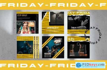 FRIDAY Instagram Template