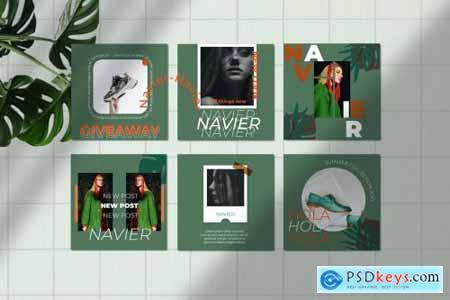 NAVIER 2 Instagram Template