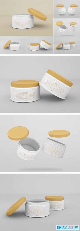 Cosmetic Jar Mockup - Vol 01