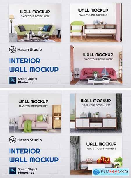 Interior Wall Mockup - Nuzie