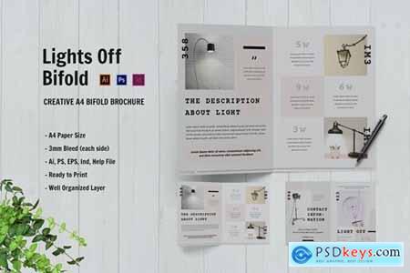 Lights Off Bifold Brochure
