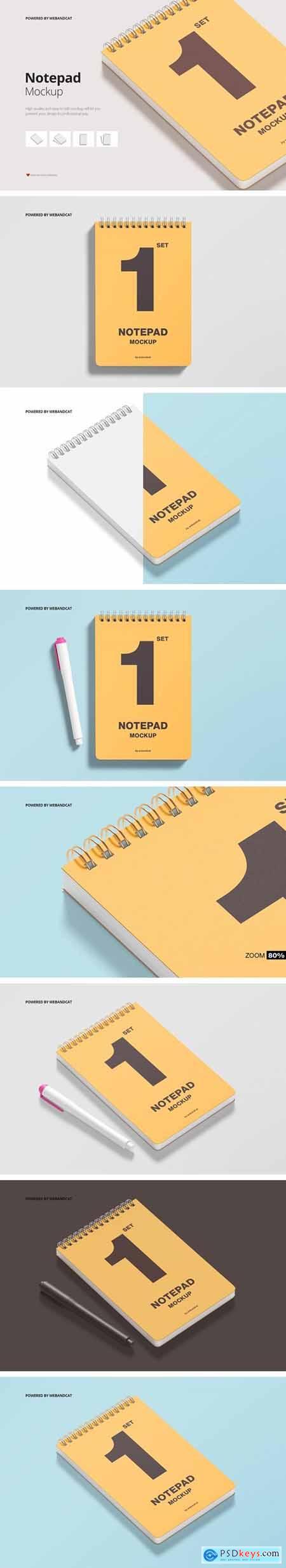 Sketchbook - Notepad Mockup