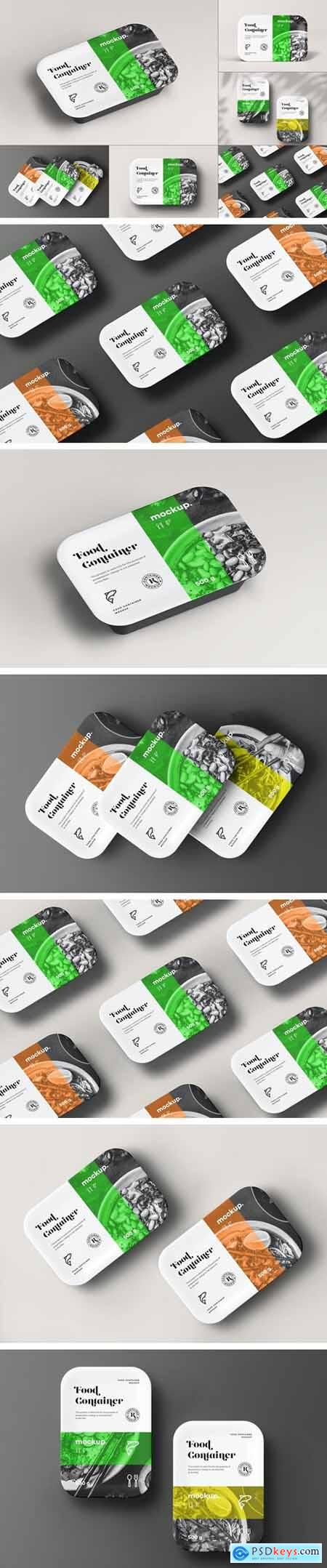 Food Container Mock-up 31535682