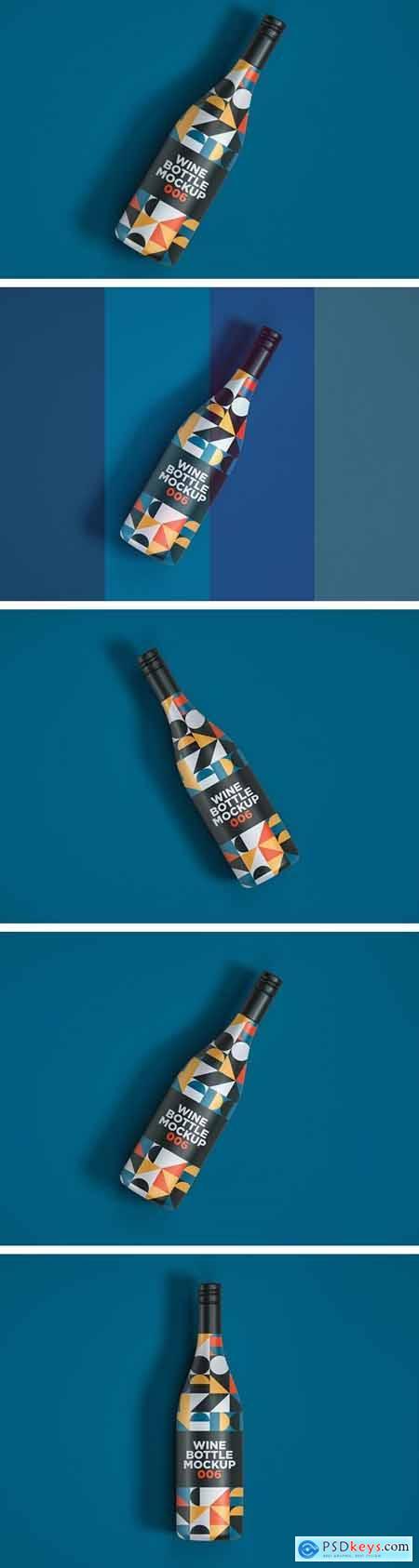 Wine Bottle Mockup 006