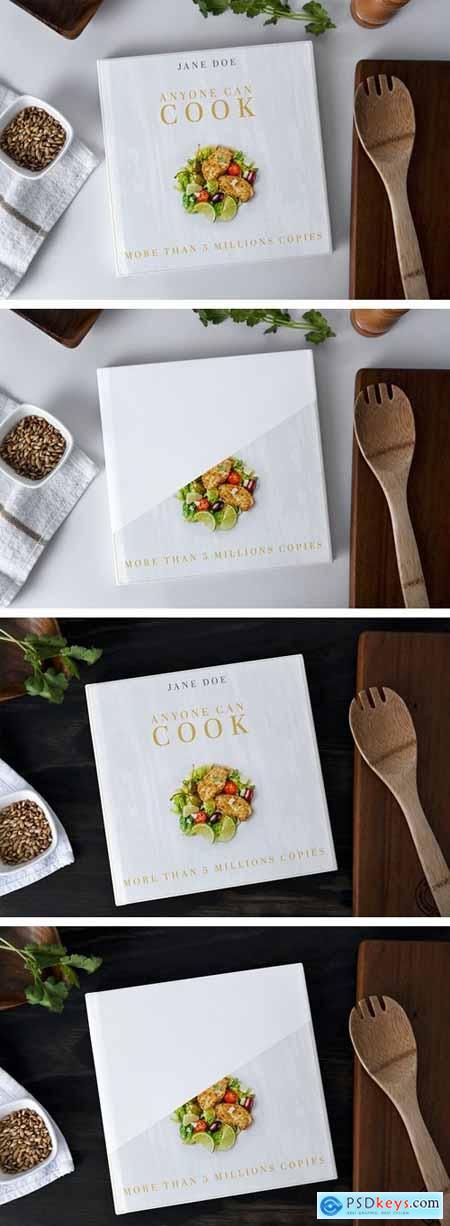 Recipes Book Mockup