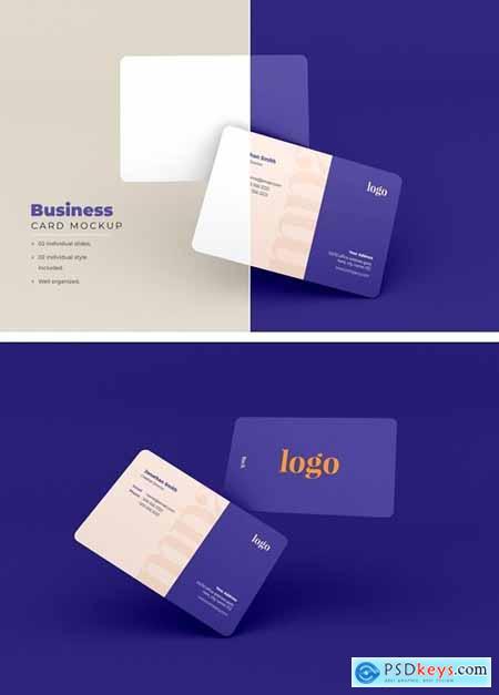 Business Card Mockup - Vol 11