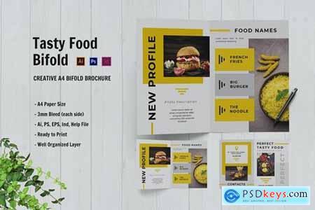 Perfect Tasty Food Bifold Brochure