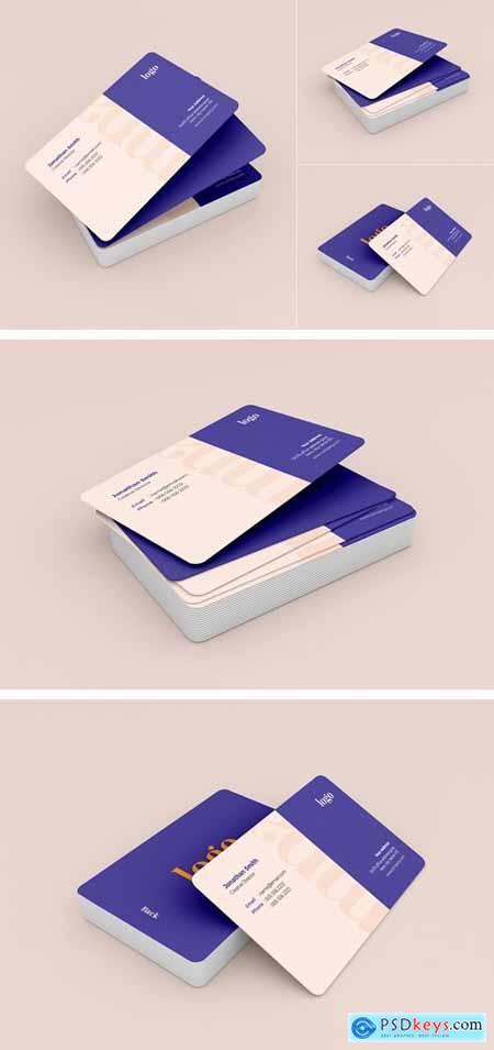 Business Card Mockup - Vol 12