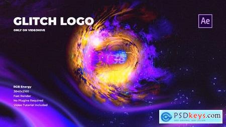 Glitch Logo Super RGB 31143158