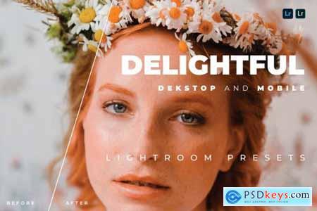 Delightful Desktop and Mobile Lightroom Preset