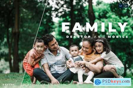 Family Desktop and Mobile Lightroom Preset