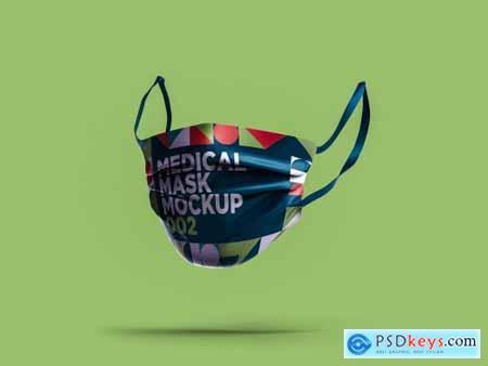 Medical Mask Mockup 002