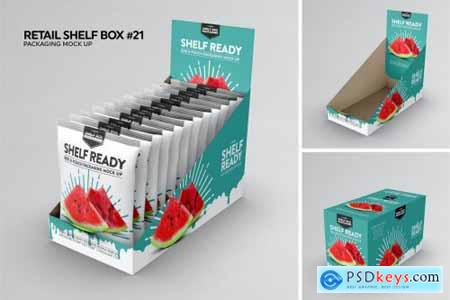 Retail Shelfbox 21 Packaging Mockup
