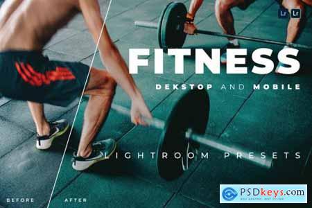 Fitness Desktop and Mobile Lightroom Preset