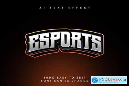 Esport Style Ai Text Effect