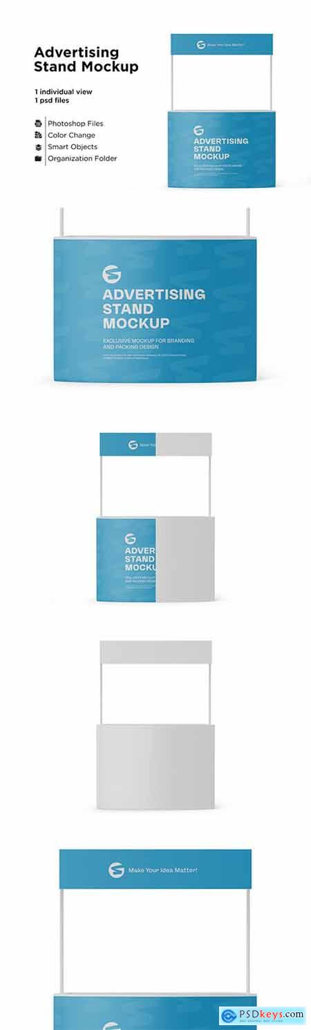 Advertising Stand Mockup 6063294
