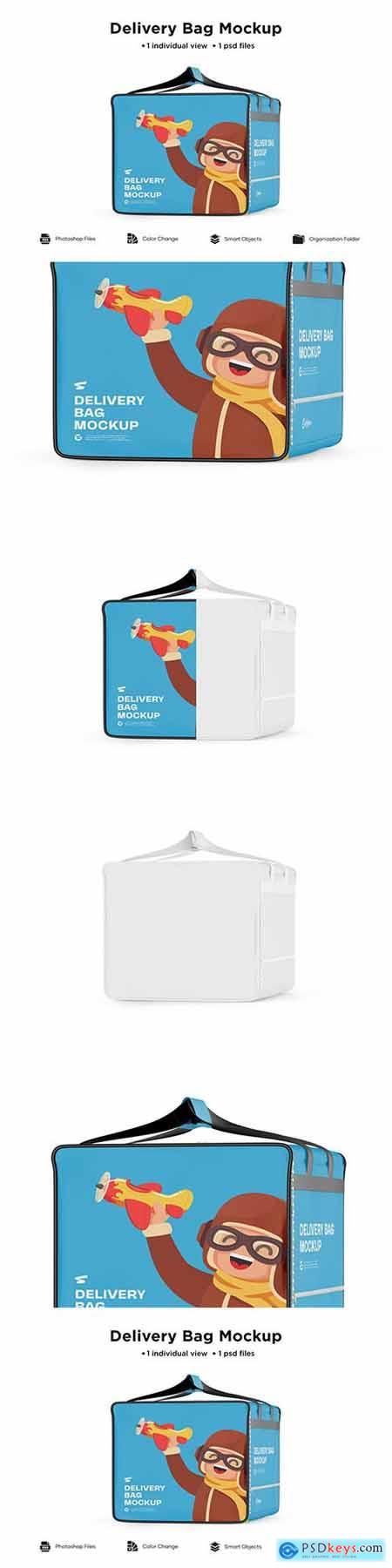 Delivery Bag Mockup 6063305