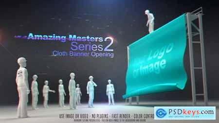 Amazing Masters Series 2 - Cloth Banner Opening 26654396