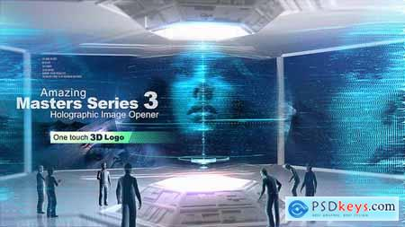 Amazing Masters Series 3 - Holographic Image Opener 26832149