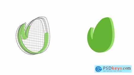 Rotating Grid Logo Reveal 22662236
