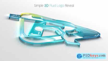 Simple 3D Fluid Logo Reveal 28796975