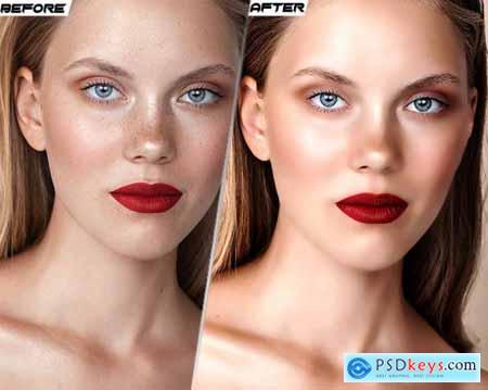 Skin Retouching Photoshop Action