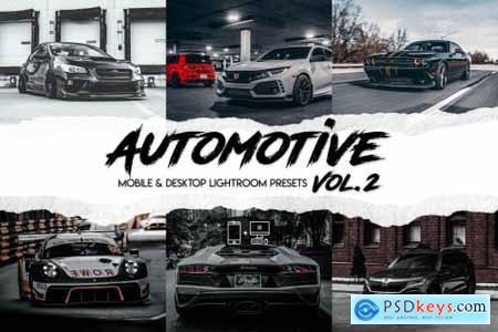 Automotive Vol. 2 - 15 Premium Lightroom Presets