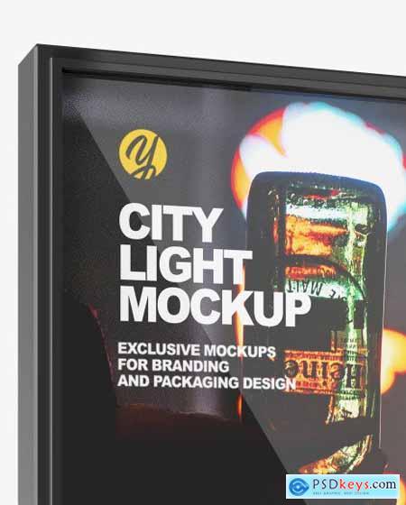 City Light Poster Mockup 81824