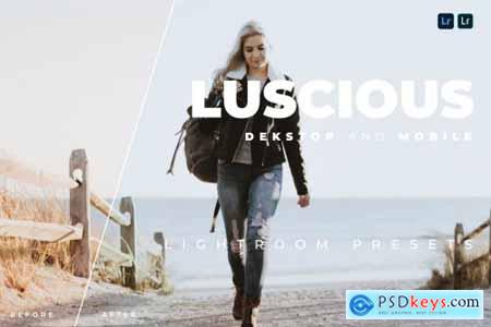 Luscious Desktop and Mobile Lightroom Preset