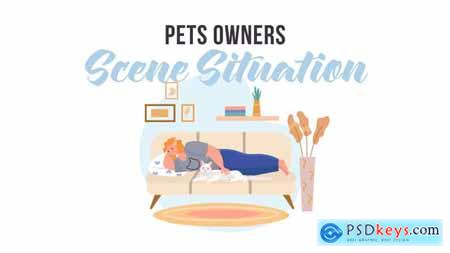 Pets owners - Scene Situation 31887875