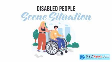 Disabled people - Scene Situation 31887860
