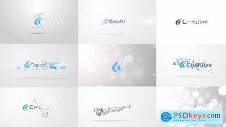 Quick Logo Sting Pack 06- Clean Particles 9574588