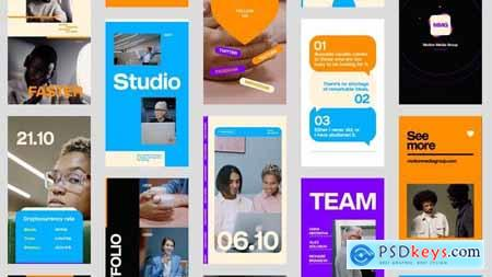 Corporate Style Stories Pack 31936666