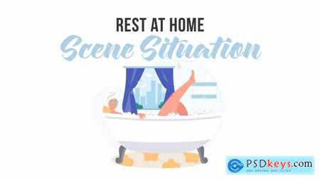 Rest at home - Scene Situation 31887880