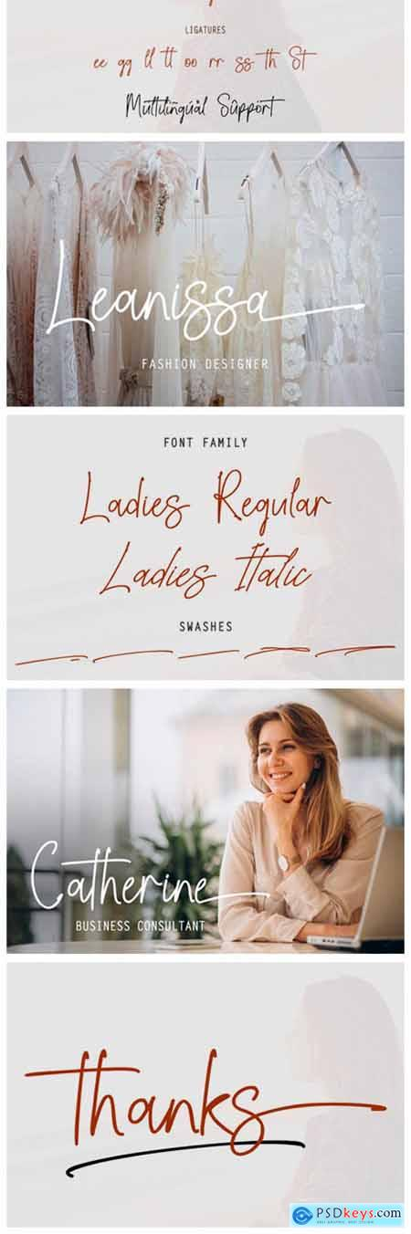 Ladies Font