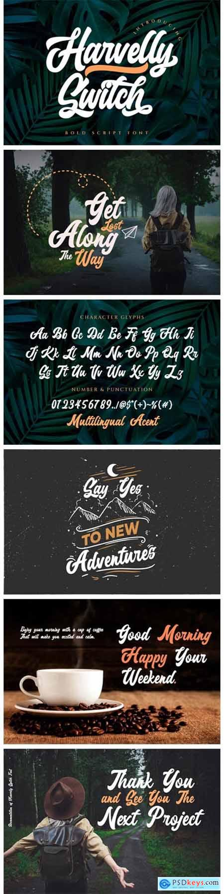 Haverlly Switch Font