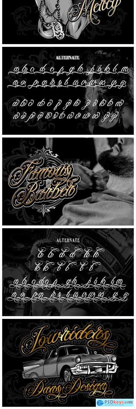 Black Majestic Font