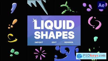 Liquid Shapes - After Effects 31922430