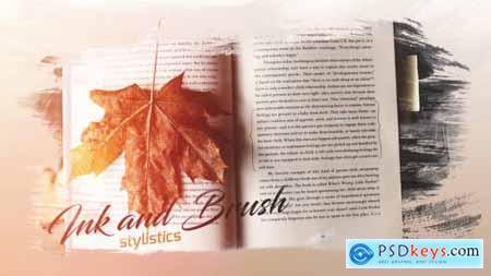 Photo Slideshow Brush & Ink 20756188