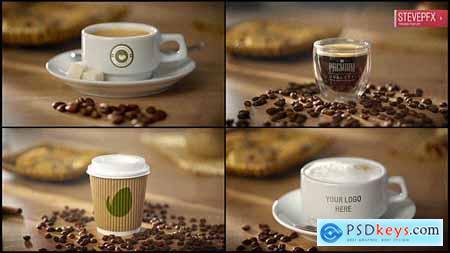 Coffee AE Mockup - Espresso Americano Cappuccino Coffee to Go 19771274