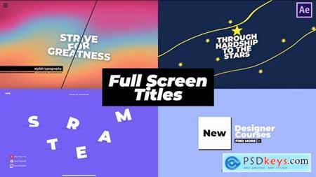 Full Screen Titles 31826614