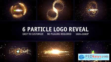 Particle Logo Reveal Pack 6in1 13977876