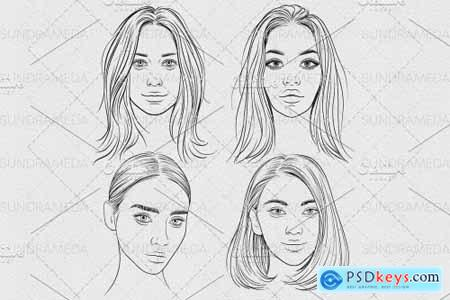 Face Stamp Brushes Procreate 5909479