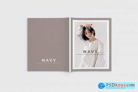 Navy Lookbook Magazine