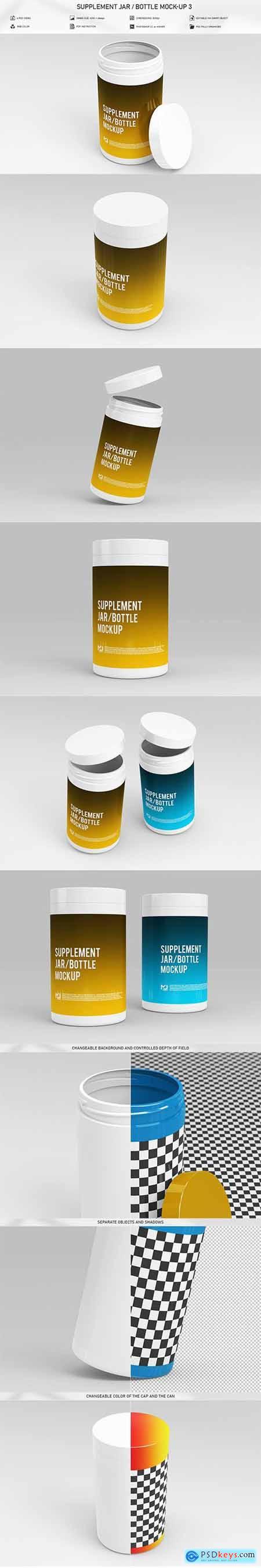 Supplement Jar - Bottle Mock-Up 3 5906977