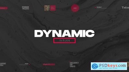 Dynamic Titles for Premiere Pro 31827379